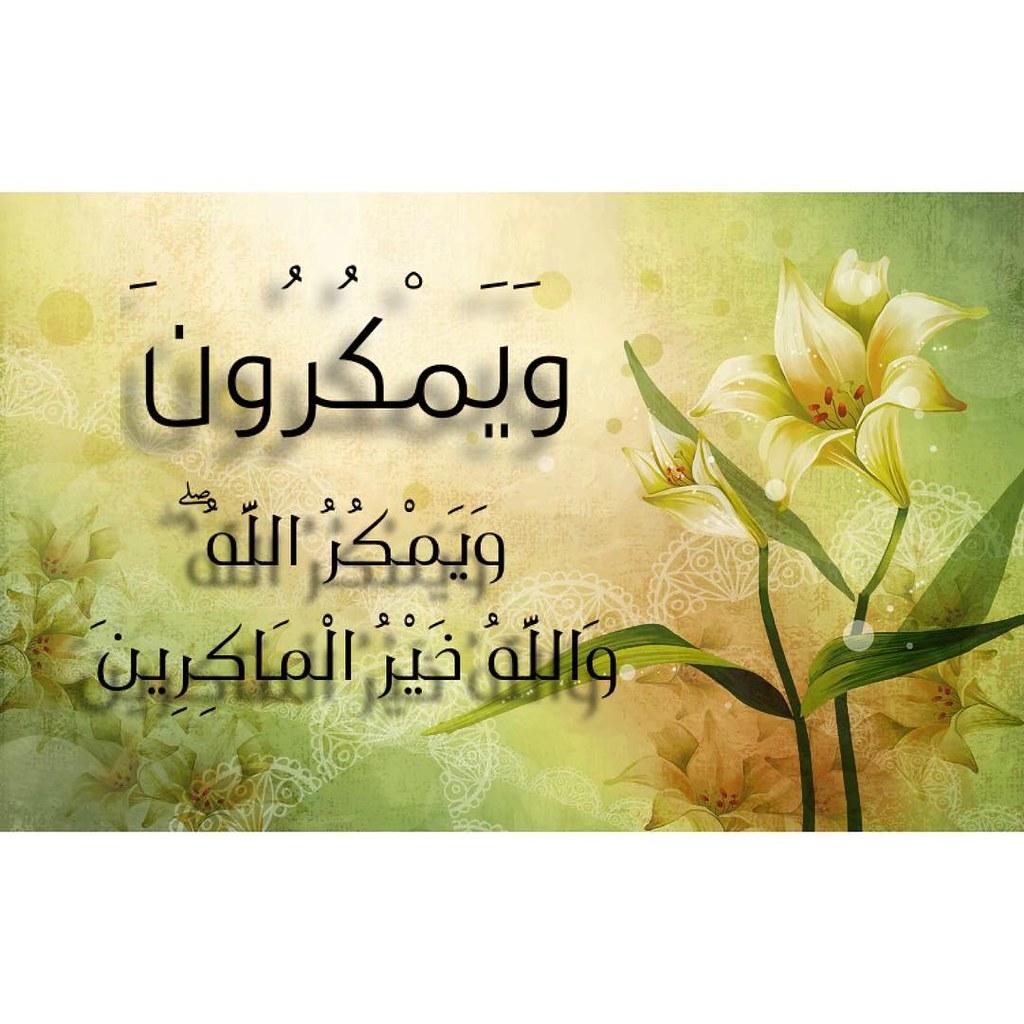 و إ ذ ي م ك ر ب ك ال ذ ين ك ف ر وا ل ي ث ب ت وك أ و Flickr