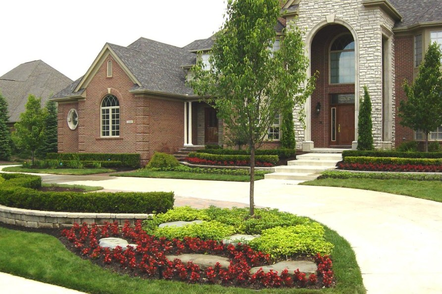 front yard design ideas landscape