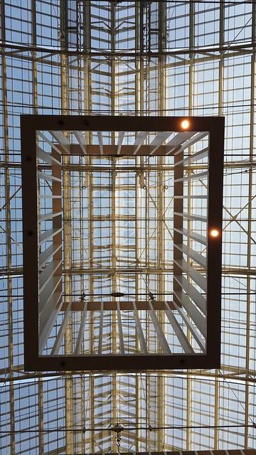 Roof of entrance hall, Rijksmuseum, Amsterdam