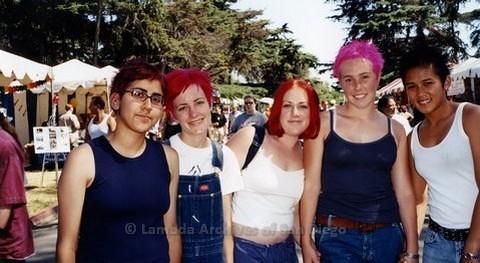 San Diego LGBTQ Pride Festival, 2000