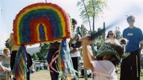 Children's Garden at San Diego LGBTQ Pride Festival, 2001