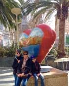 Coeur a Union Square a San Francisco lors de la visite privée de San Francisco avec www.frenchescapade.com