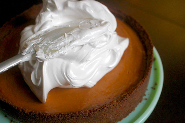 Sweet Potato Gingersnap Tart - 20