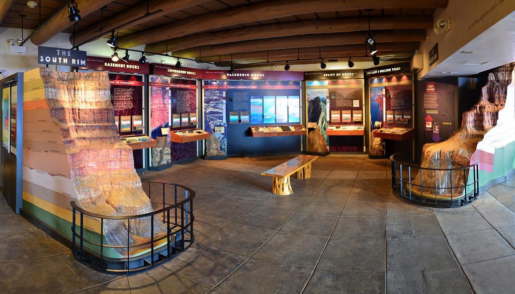 Grand Canyon: Yavapai Museum of Geology 7707