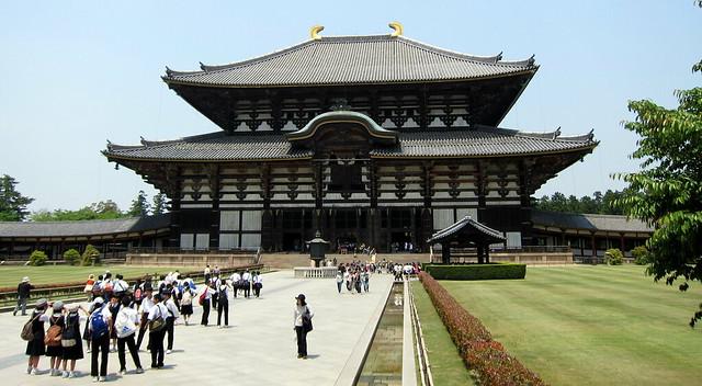 Nara: Tōdai-ji - Daibutsuden