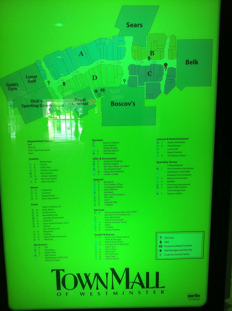 Westminster Mall Directory : westminster, directory, Directory, Westminster, Kalasnik, Flickr