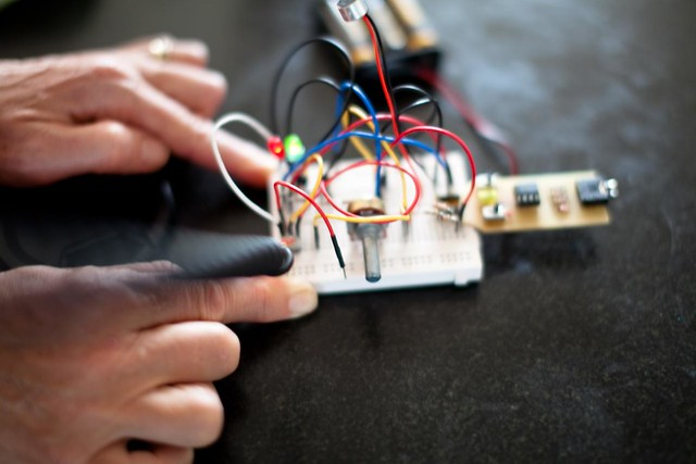 Sound activated camera remote