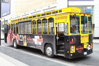 trolley bus - must have a ride tomorrow