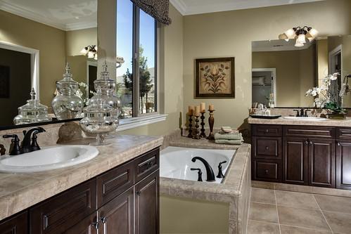 Maplewood Model Home Master Bathroom  Master bathroom