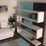 Modern Dollhouse Bookcase Shelves Modern Mini Houses Flickr