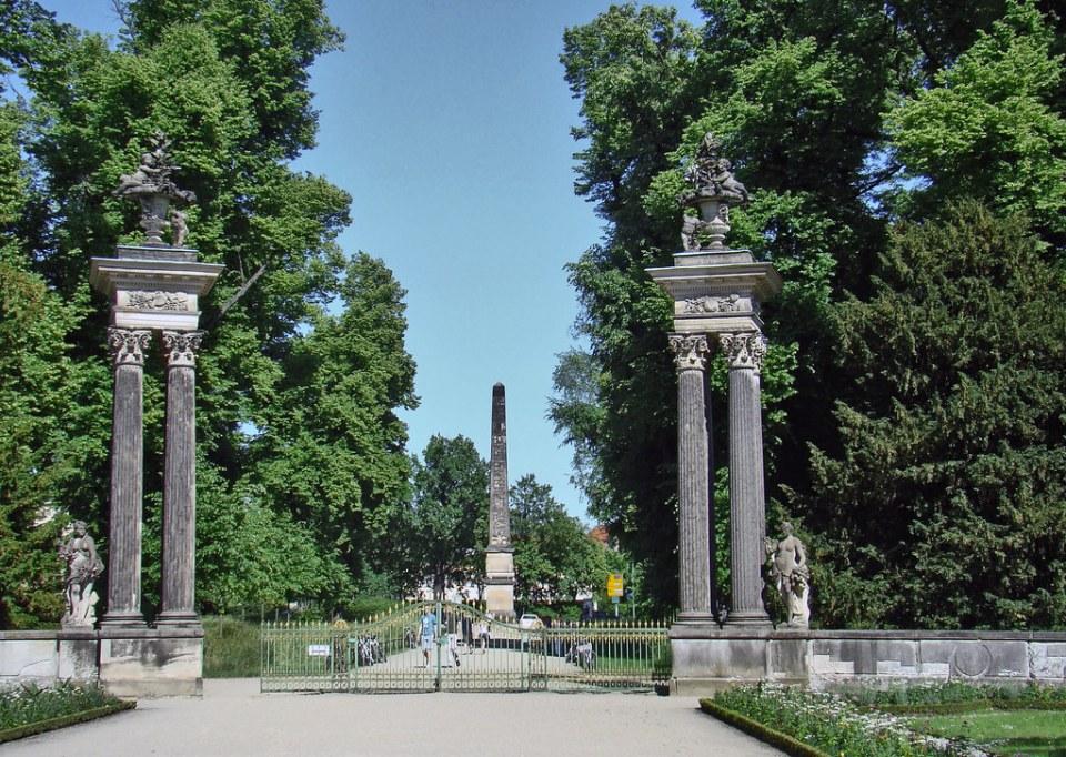 obelisco Jardines del Palacio Sanssouci Potsdam Alemania 11 Patrimonio de la Humanidad Unesco