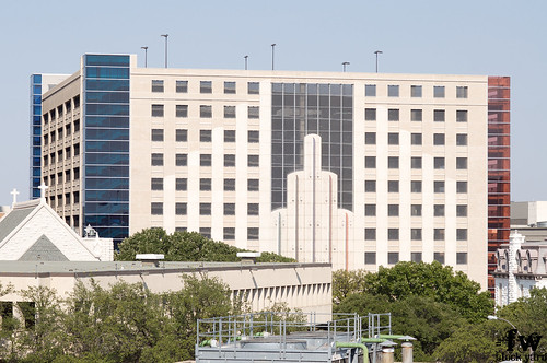 The Fort Worth Convention Center parking garage  From