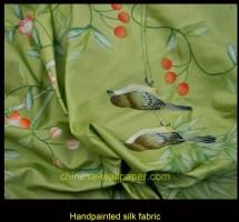 Nsr Handcrafts Hand Painted Silk Fabrics