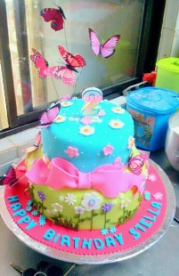 2 year old birthday cake