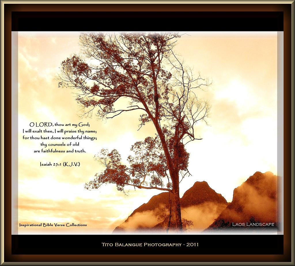 Www 3d God Wallpaper Com Isaiah 25 1 O Lord Thou Art My God I Will Exalt Thee