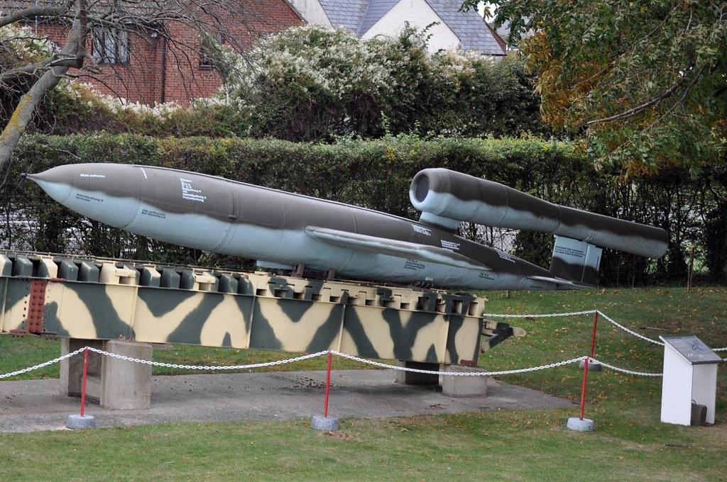 V1 Flying Bomb (Doodlebug) | A genuine V1 flying bomb more c… | Flickr