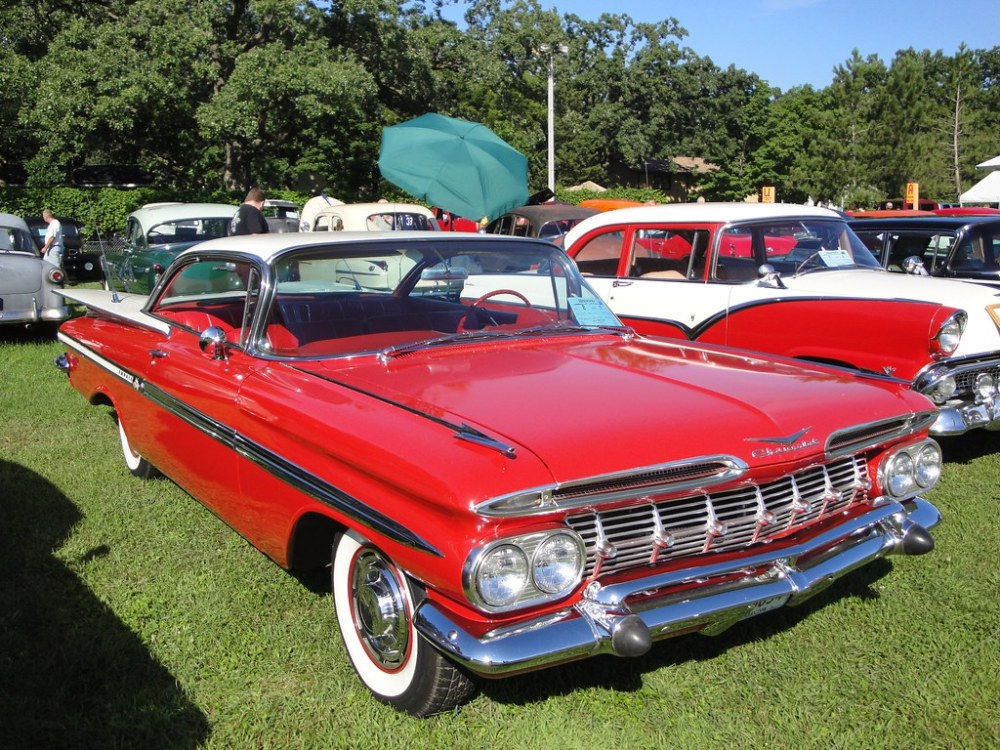 medium resolution of  59 chevrolet impala by crown star images