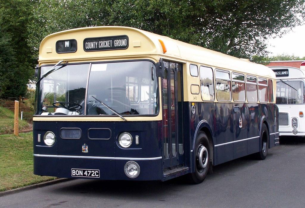 Birmingham City Transport Daimler Fleetline - BON 472C | Flickr