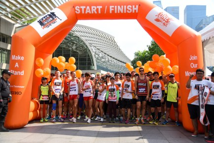 "Orange Ribbon Run & Walk – ""Race Against Racism"" 2015"