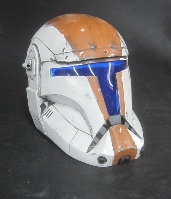 Boss Helmet Painted 3