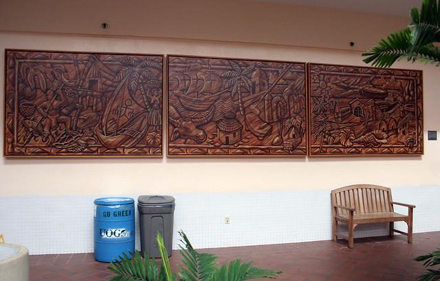 Castro's Triptych at Leon Guerrero Building