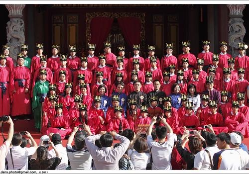 take pix with Mayor; Hau Lung-bin after Ceremony 2011 禮成後與… | Flickr