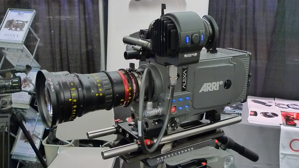 ARRI ALEXA with Angenieux Optimo 45-120 at Createasphere