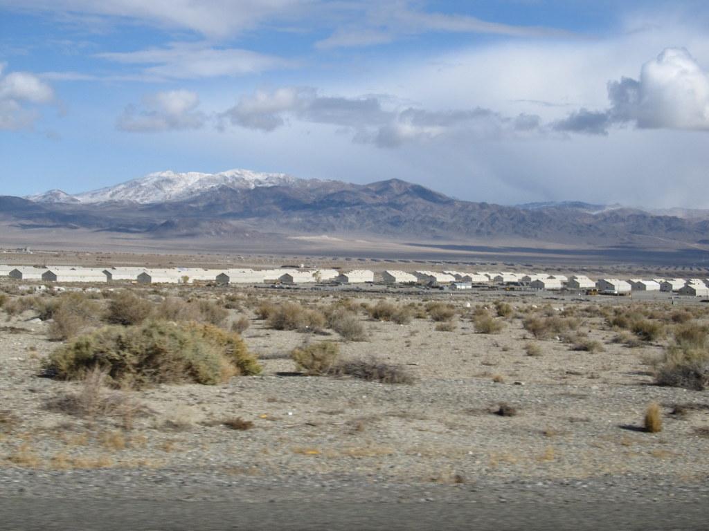 Ammunition Bunkers Hawthorne Nevada Hawthorne Army