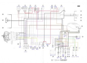 200001 Ducati Monster 900 ie Electrical wiring Diagram