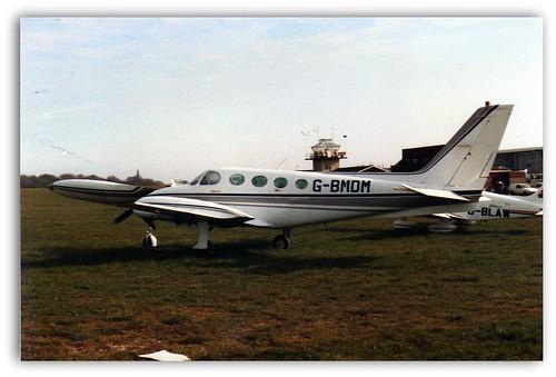 Cessna 340 G-BMDM   Booker 1980's   Paul Buxton   Flickr