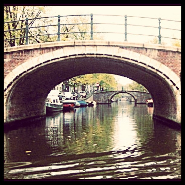 The Seven Bridges in Amsterdam