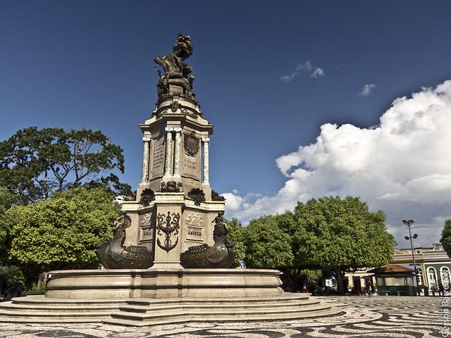 Monument in Largo de São Sebastião