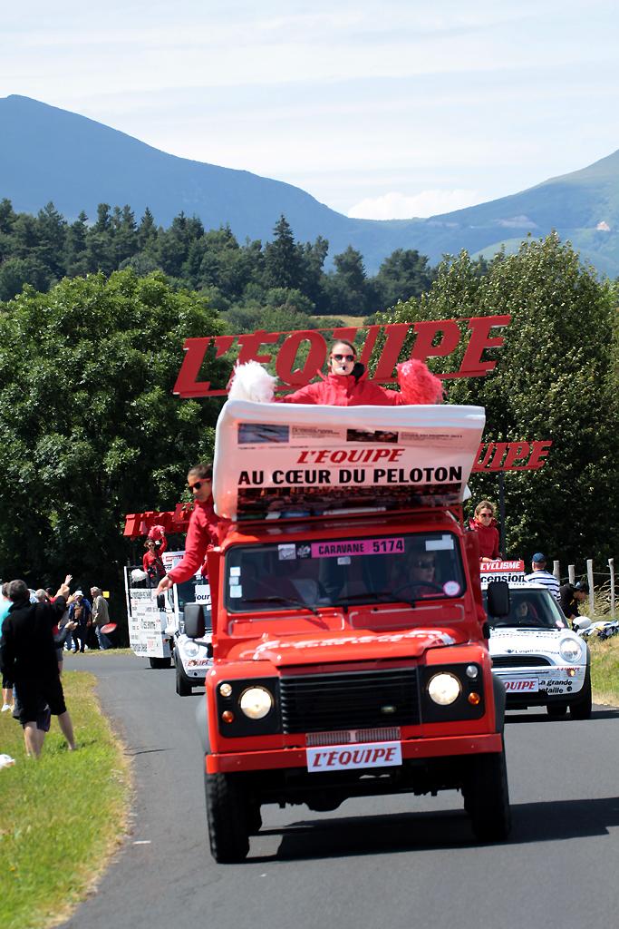 Caravane Du Tour De France : caravane, france, France, Caravane, Tour,, L'Equipe, Mathieu, Cubizolles, Flickr