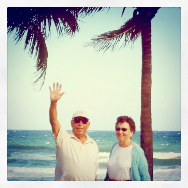 Two years ago today my grandfather passed away. This is him on my visit to Florida with my Grandmother. He was the patriarch to our family and sorely missed...