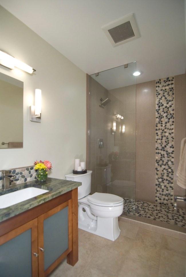 Asian Inspired Bathroom Remodel