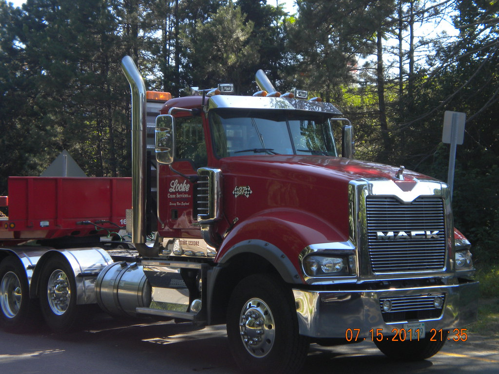 hight resolution of  locke crane services mack titan hauling for bay crane by matredsoxfan