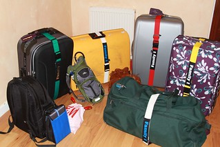 Smart suitcases, ready to go!