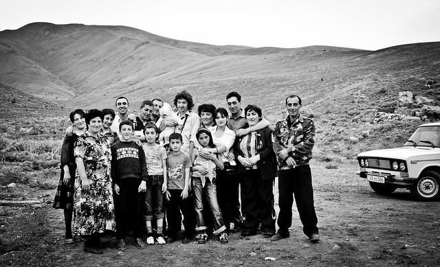 Armenian family party