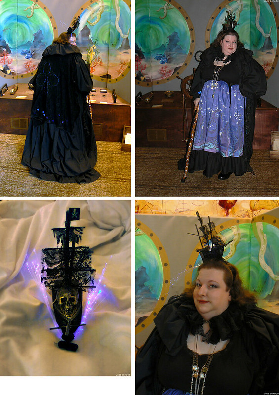 Steamcon Jellyfish Costume