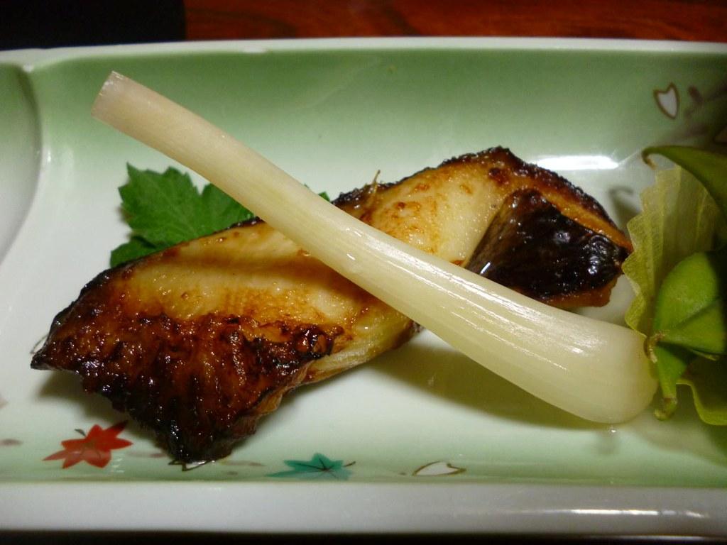 Grilled Fish Yumotokan Ikazawa Onsen Niigata Japan Flickr