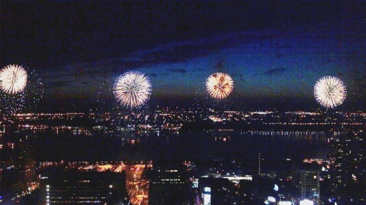 Macy's Fireworks, July 4, 2011