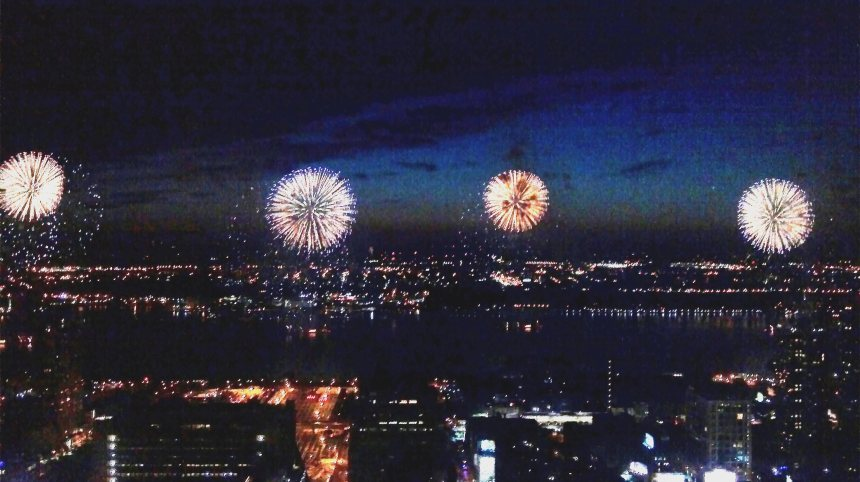Macy's Fireworks, July 4, 2011