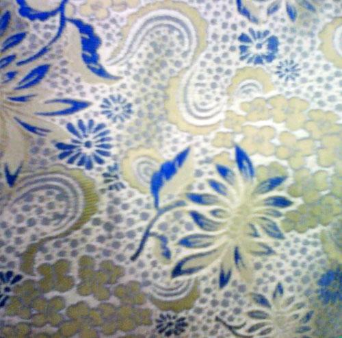 織錦緞-寶藍色   APeiru   Flickr