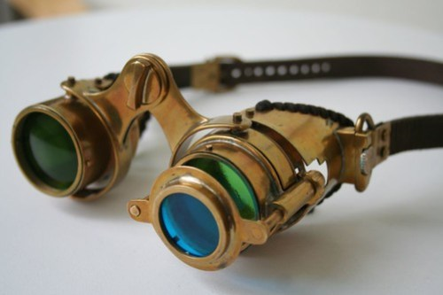 """Steampunk goggles """"N-axis""""3"""