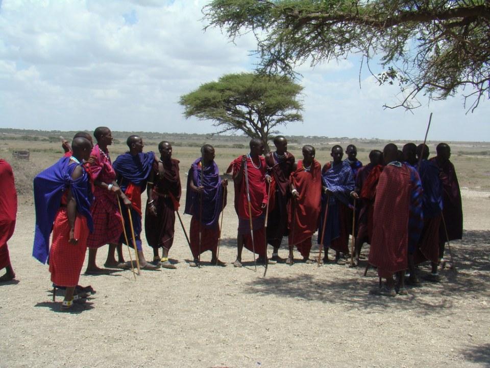Los Masai su gente people Tanzania 15