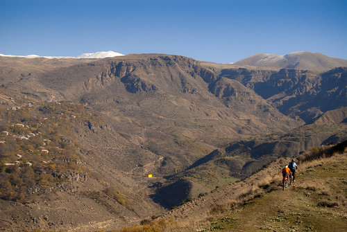 Riding off the beaten track in Armenia