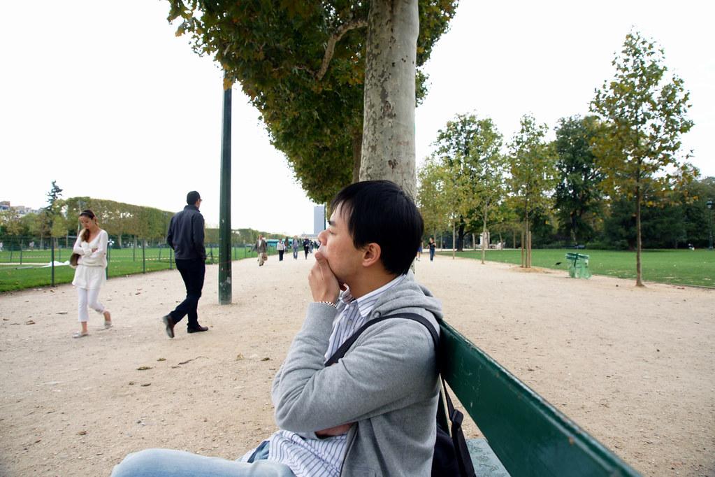 Day 3 | 人在法國!總是要裝一下文藝青年 | Alan Chiang | Flickr