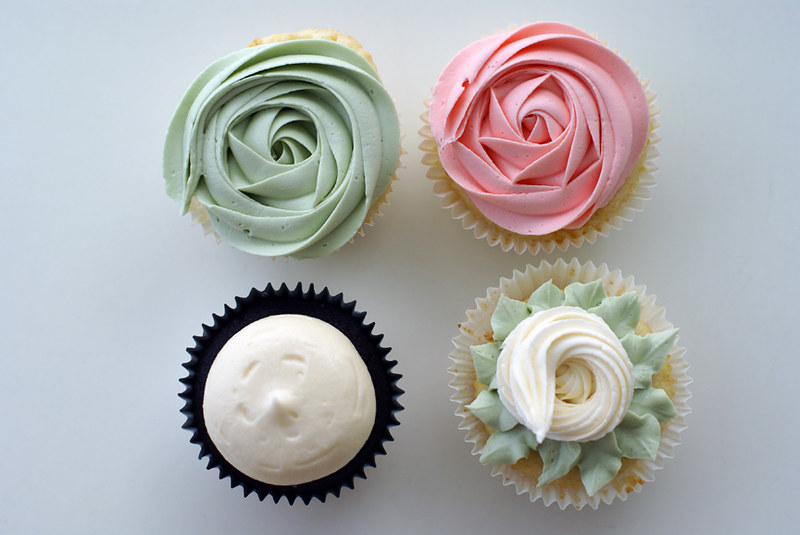 a cute cupcake foursome!