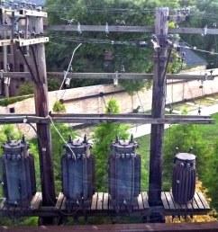 old transformers on platform by en tee gee [ 1024 x 787 Pixel ]