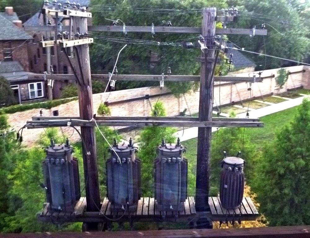 medium resolution of  old transformers on platform by en tee gee